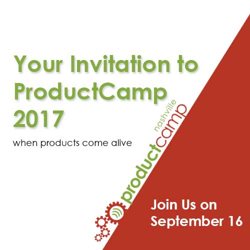 Your Invitation to ProductCamp 2017