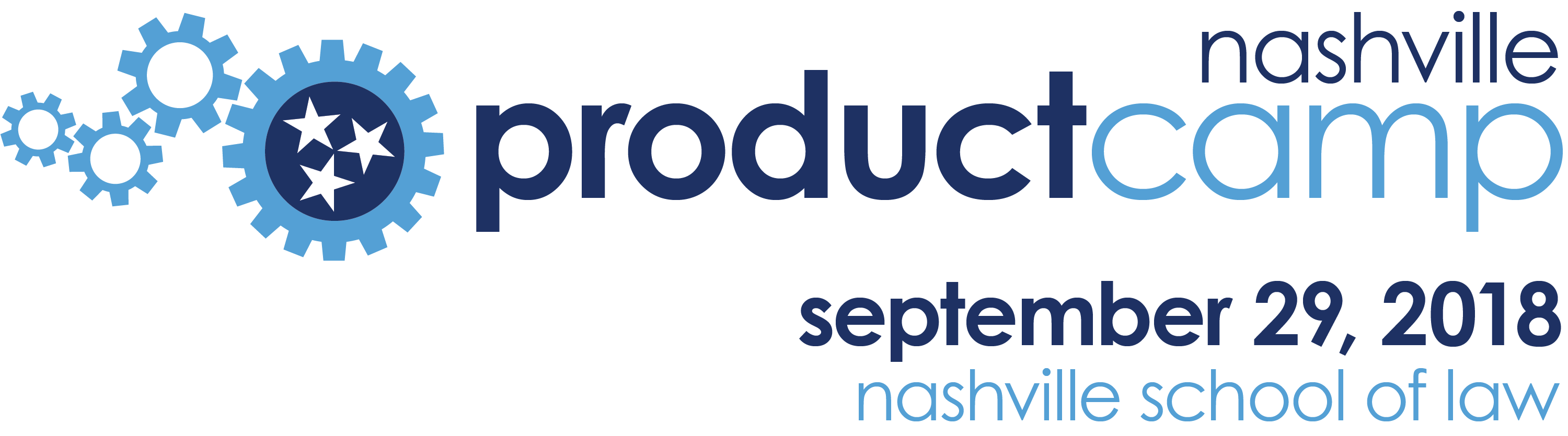 product camp logo with date and loaction
